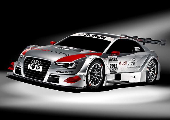 Nové Audi A5 DTM na start svého prvního závodu tuto neděli - 29. dubna na Hockenheimringu