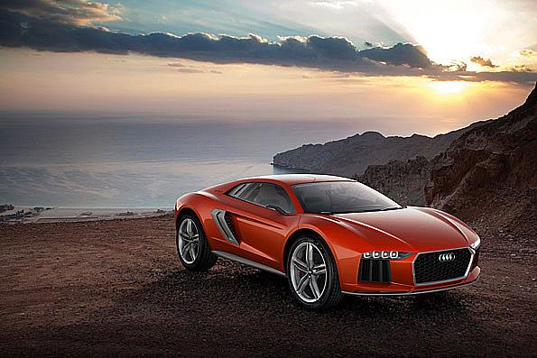 Dynamika v nové podobě: Audi nanuk quattro koncept představen včera na Autosalonu ve Frankfurtu