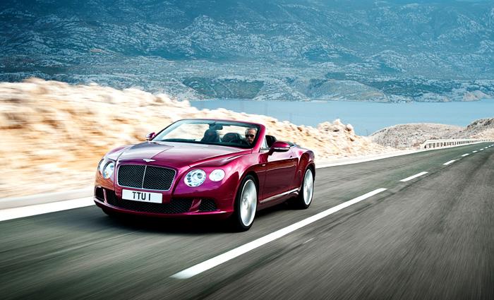 Bentley Continental GT Speed Convertible: nejrychlejší čtyřmístný kabriolet světa