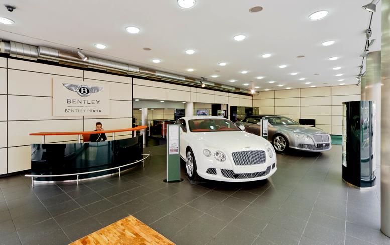 Bentley posiluje svou pozici na středoevropském trhu otevřením zastoupení Bentley Praha