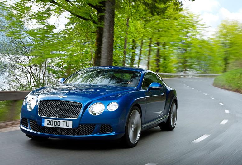 Na český trh přichází nejrychlejší sériově vyráběné Bentley všech dob – kupé Continental GT Speed