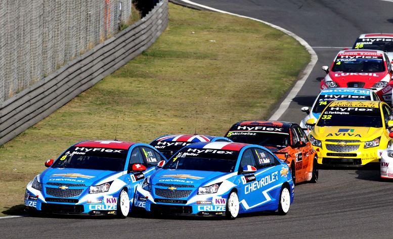 Chevrolet vybojoval během víkendu v Číně další fantastický týmový výsledek