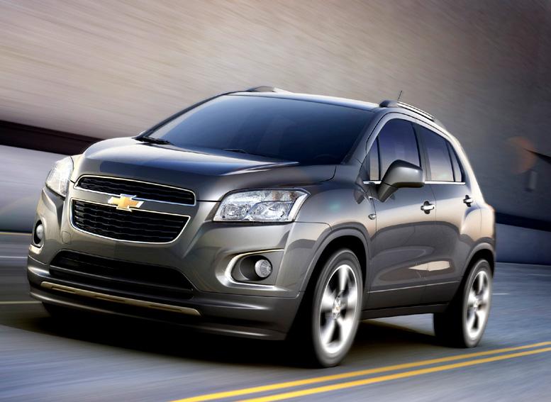 Chevrolet Trax, úplně nový model bude představen na Pařížském autosalonu v září 2012