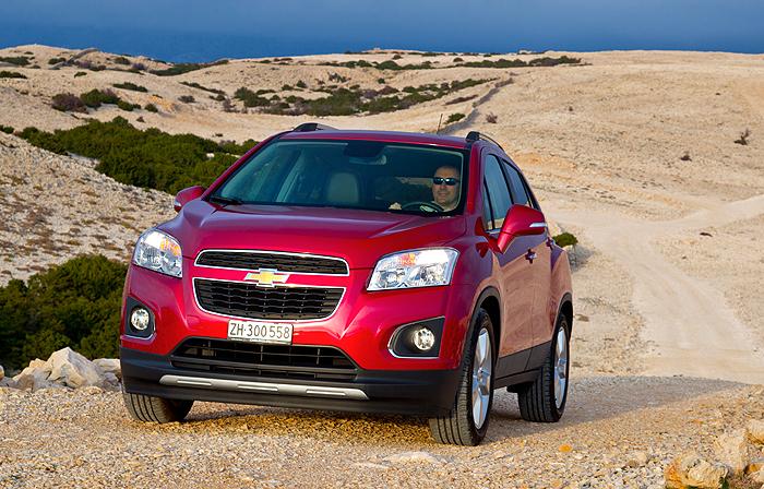 Nový SUV Chevrolet Trax přichází do prodeje na našem trhu