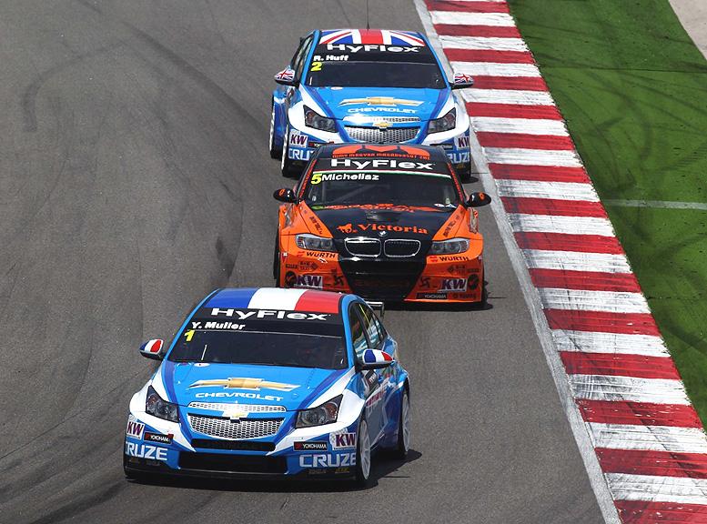 Poslední kolo letošní sezony WTCC v Evropě bylo pro Chevrolet úspěšné a plné emocí
