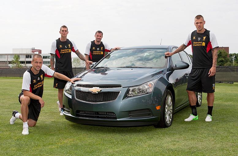Chevrolet se stává oficiálním automobilovým partnerem Liverpool FC