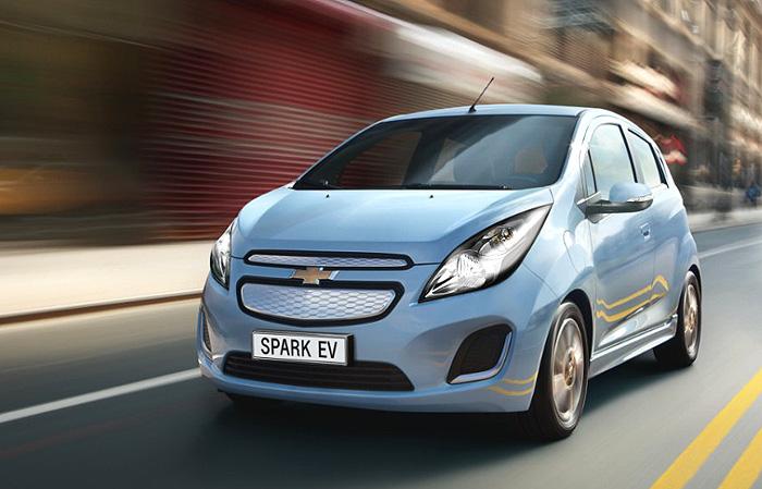 Chevrolet zveřejnil dosah a spotřebu zcela nového modelu Spark EV