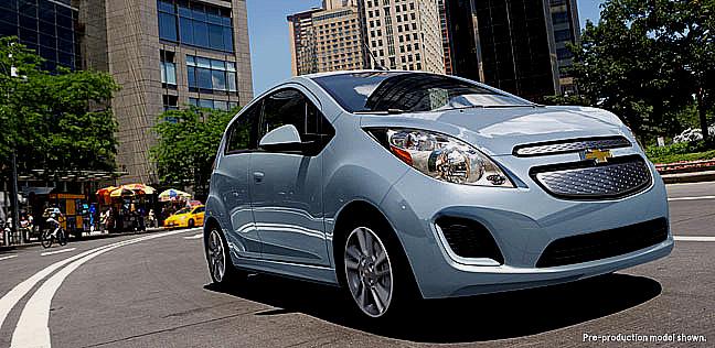 Spark EV: elektrická hvězda Chevroletu vevropské premiéře na březnovém autosalonu v Ženevě