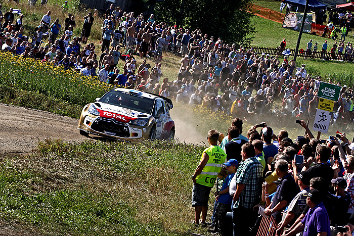 Citroen na Neste Oil Rally Finsko (1. – 3. 8. 2013)