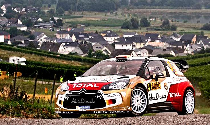 Dani Sordo - premiérové vítězství Citroenu na Rally Německo (22. - 25. 8. 2013)