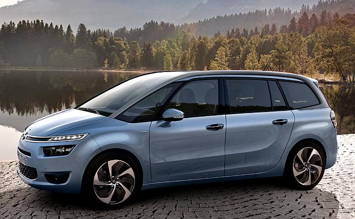 Nový Citroën Grand C4 Picasso - veliký technospace (velmi podrobná informace)