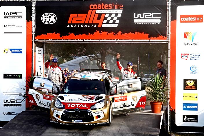 Mikko Hirvonen a Jarmo Lehtinen na Rally Austrálie uhájili stupně vítězů (12. – 15. 9. 2013)