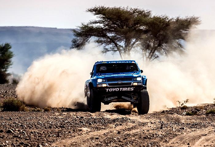 Chevrolet Silverado na Dakar Rally 2013 v Jižní Americe (5. – 20. ledna)