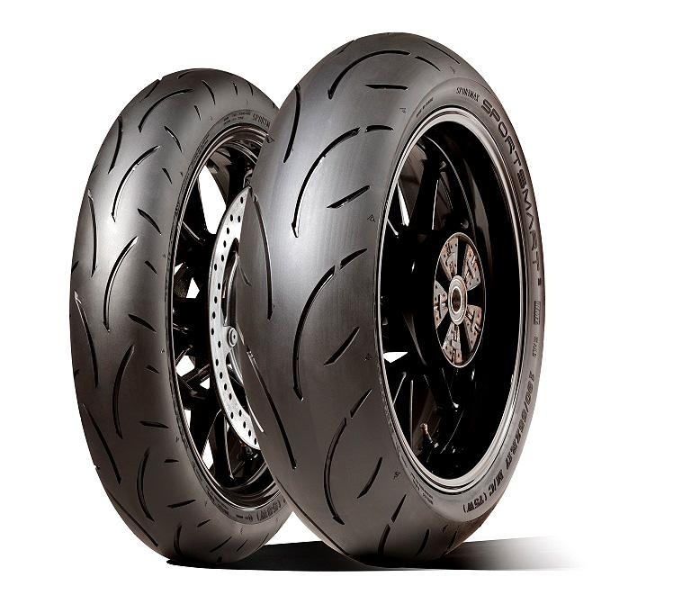 Dunlop představuje sportovní pneumatiku na druhou - SportSmart2