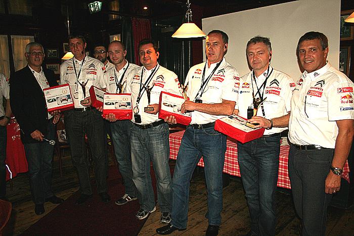 Zlaté české ručičky techniků servisů Citroen potvrdily svou dobrou pověst ve světě!