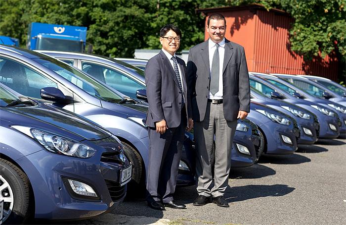 Česká pošta si vybrala automobily Hyundai
