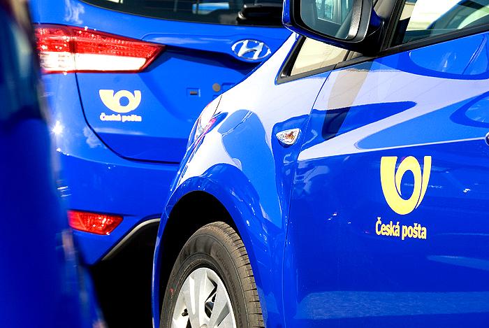 Česká pošta převzala vozy Hyundai ix20
