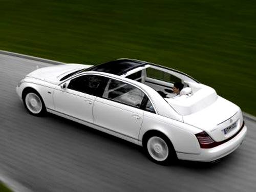 Maybach Landaulet: nejexkluzivnější otevřená luxusní limuzína na světě - pouze nebe je hranicí