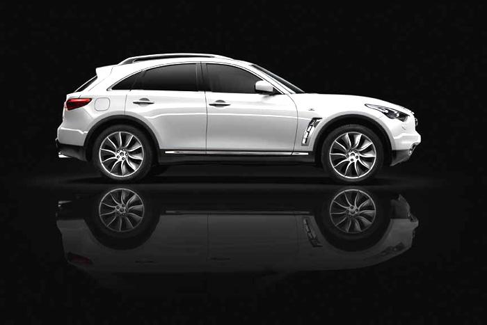 Model Infiniti FX s designem a proporcemi sportovního vozu přitahuje stále více zájemců