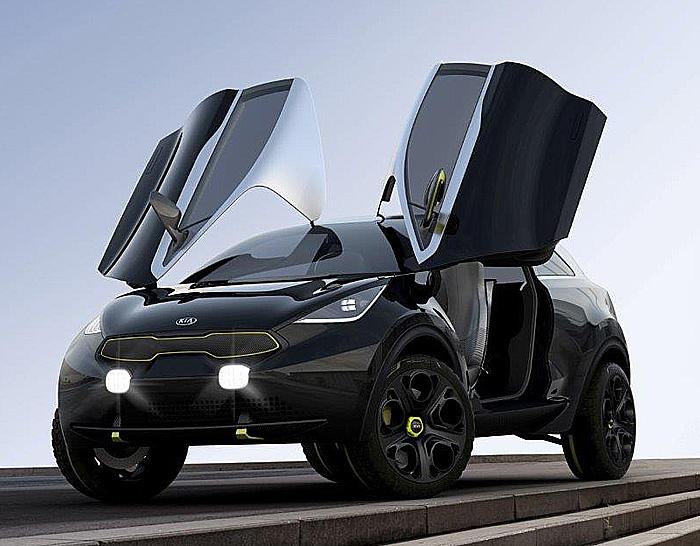 Kia představí 10. září na autosalonu ve Frankfurtu studii městského vozu Kia Niro