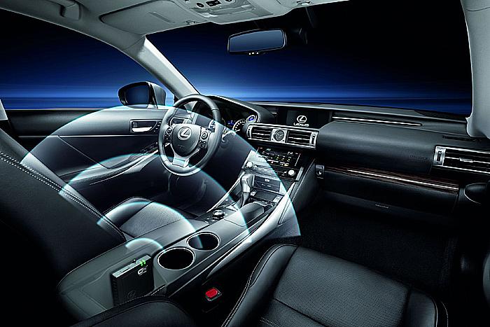 Součástí nejmodernějších palubních technologií nového modelu Lexus IS je nový systém Lexus Hotspot