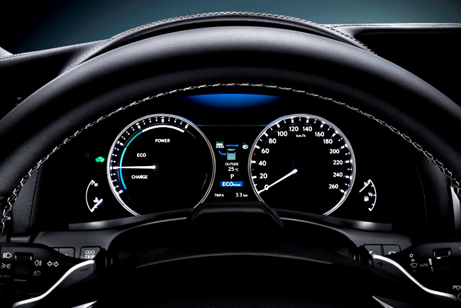 Nový Lexus GS: řízení ušité na míru s funkcí Lexus Drive Mode Select