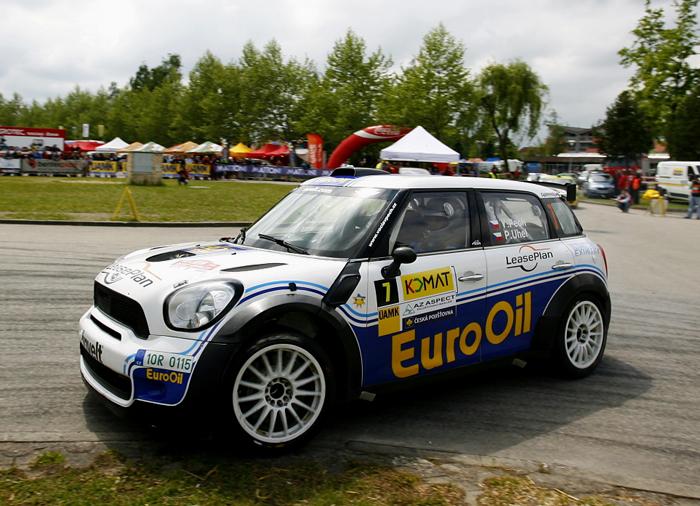 Pech-Uhel na MINI absolutními vítězi Rallye Český Krumlov