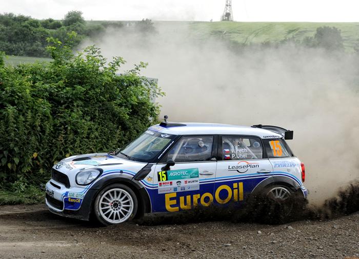 Vteřinový souboj Pecha na Rallye Hustopeče - byla to bitva jako řemen a souboj, který vstoupí do historie českého rallye sportu