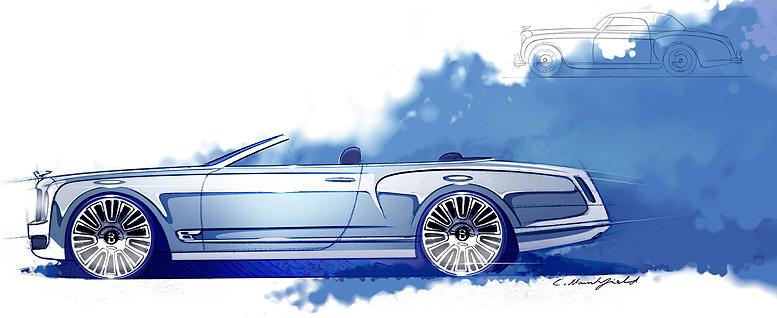Bentley Mulsanne Convertible Concept – superluxusní kabriolet