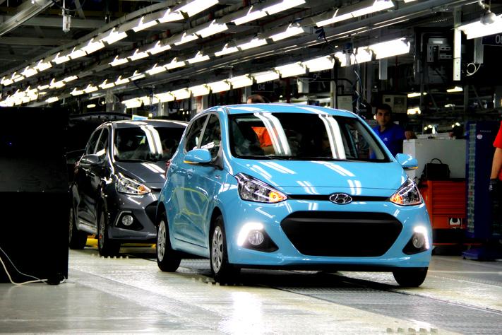 Společnost Hyundai Motor dokončila rozšíření tureckého závodu a z výrobní linky sjel první vůz nové generace i10