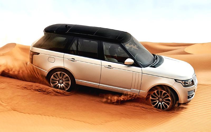 Značka Land Rover představila čtvrtou generaci luxusního SUV Range Roveru