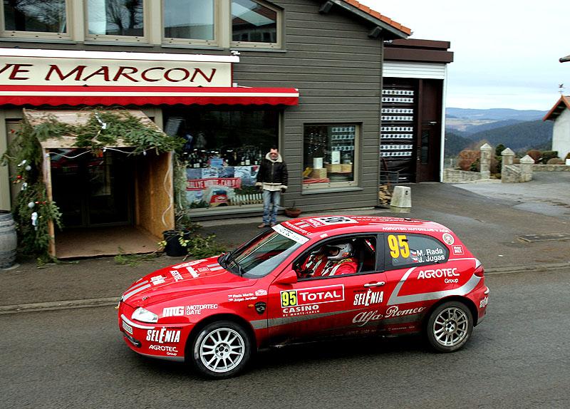Martin Rada s Alfou Romeo zvítězil na Rallye Monte Carlo ve třídě 8