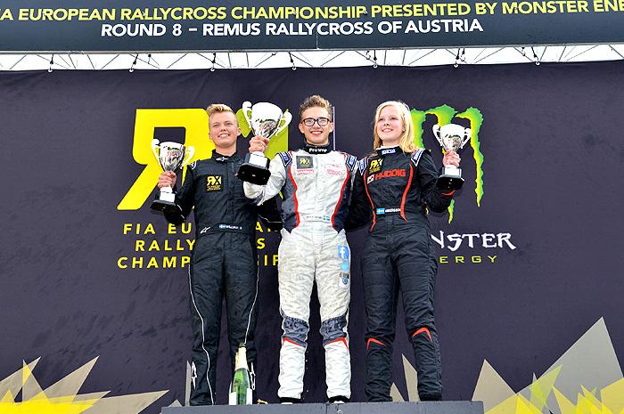 Mistrovství Evropy FIA vrallycrossu - triumf Alexandra Hvaala v Rakousku
