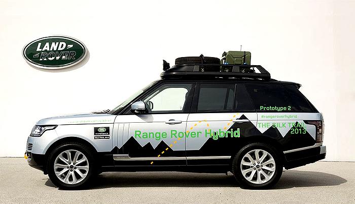 Land Rover představí 10. září hybridní Range Rover a hybridní Range Rover Sport na frankfurtském autosalonu