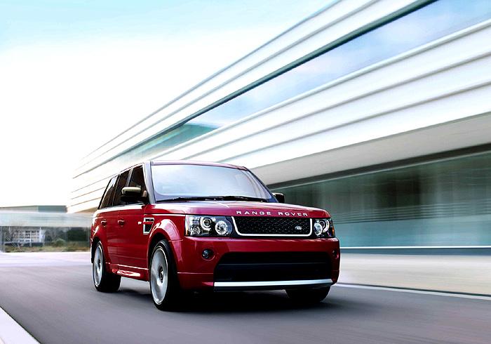 """Nový sportovní model Range Rover Sport """"Red"""" obohacuje modelovou řadu Range Rover Sport"""