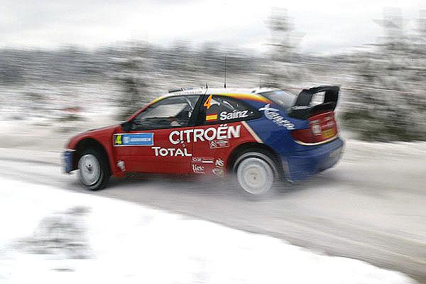 Citroen vítězí na Švédské rallye, která skončila včera vneděli