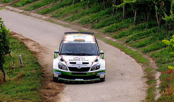 Sepp Wiegand a Frank Christian dokončili německou rally na čtvrtém místě
