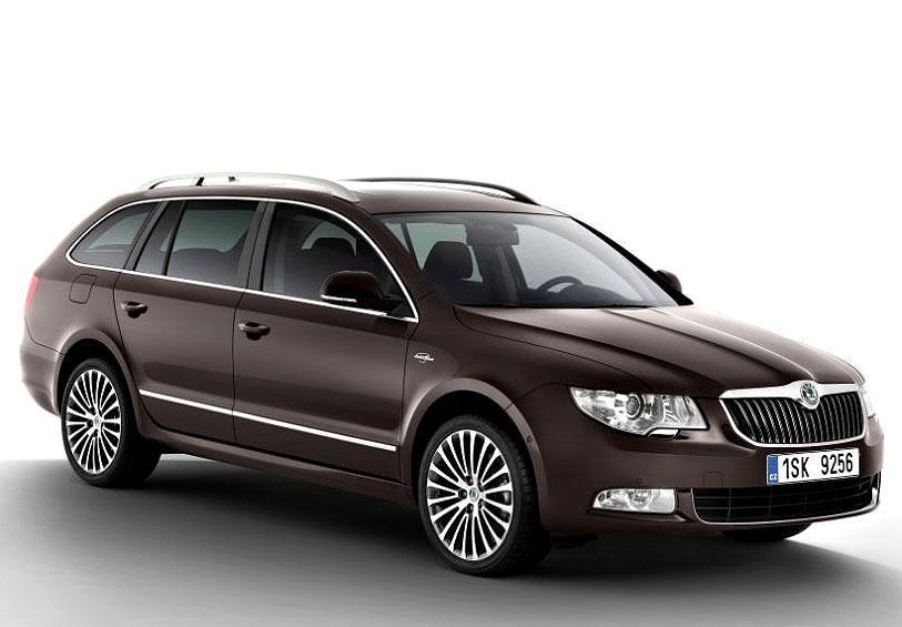 Škoda Superb zvítězila ve čtenářské anketě Nejlepší auta 2012 německého časopisu Auto Motor und Sport