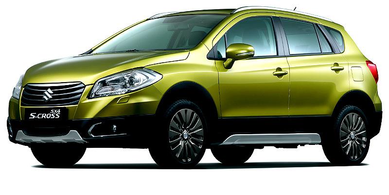 Nový rodinný Suzuki SX4 S-Cross – technické parametry