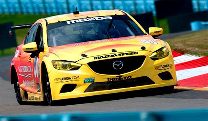 Motor s dieselovým pohonem Mazdy ve voze Mazda 6 dobyl další závod Grand-Am