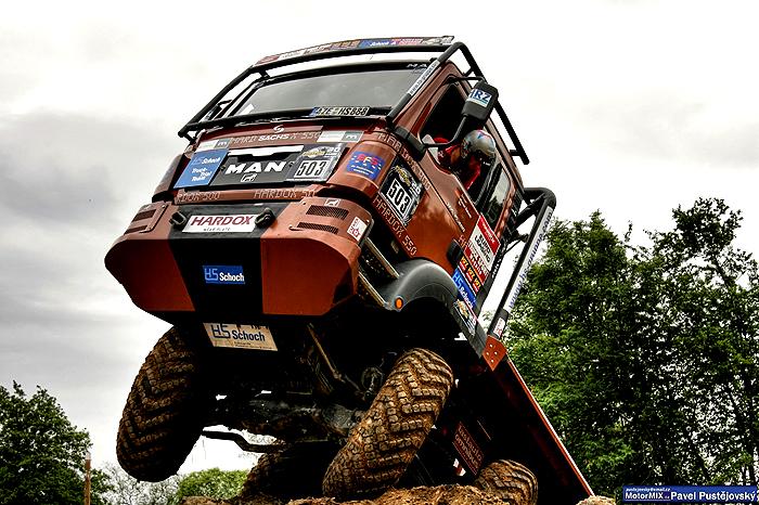 Evropský trucktrial jede o víkendu 24. a 25. srpna na dohled Brna