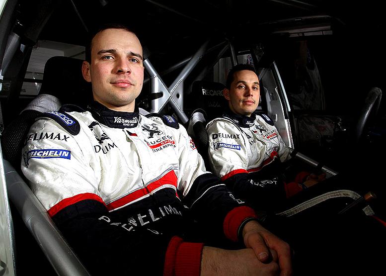 Peugeot Delimax Total Team míří na Valašku s novým spolujezdcem