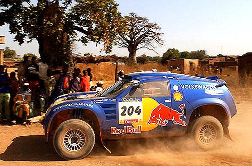 Výsledky týmu Volkswagen na Rally Dakar 2004 předčily očekávání