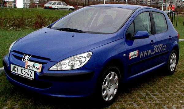 Peugeot 307 sbenzinovým motorem 1,4 litru vtestu redakce