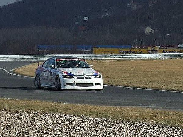 NEW BMW 2008: Na prvním testování v Mostě jsme byli rychlejší!
