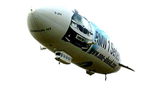 Největší vzducholoď současnosti BMW Transeuropean Tour
