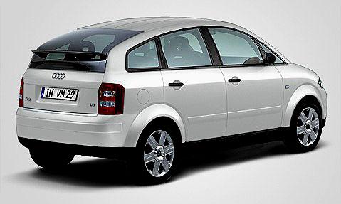 Audi A2 vítězí vhodnocení spolehlivosti podle žebříčku TÜV Auto-Report 2004