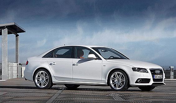 Pět hvězdiček pro nový sedan Audi A4 v testech Euro NCAP