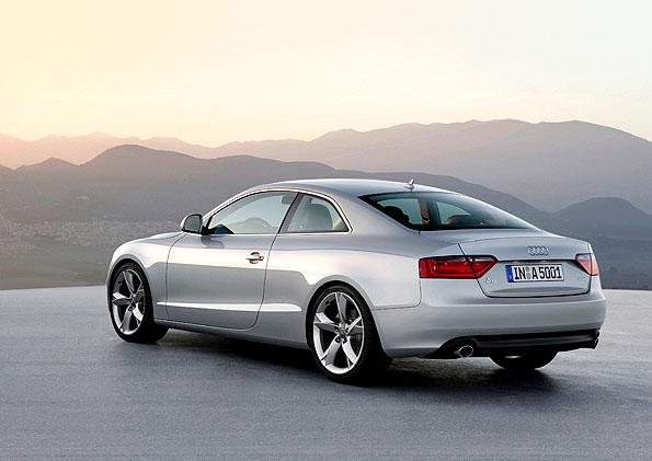 Nové kupé Audi A5 (i Audi S5) lze objednávat u nás již včervnu