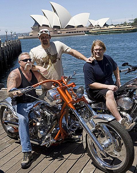 Americký chopper - nejpopulárnější seriál televizního kanálu Discovery Channel